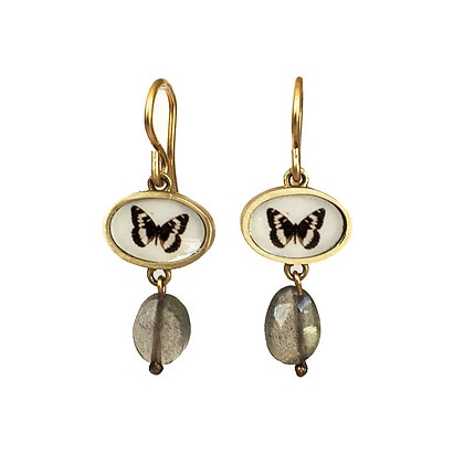 BUTTERFLY Photo Earrings/ORDER