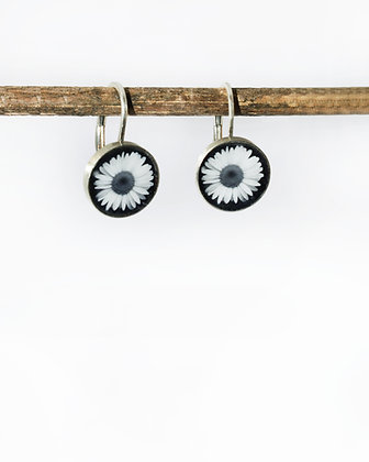 Daisy Photo Earrings ( IN STOCK NOW)