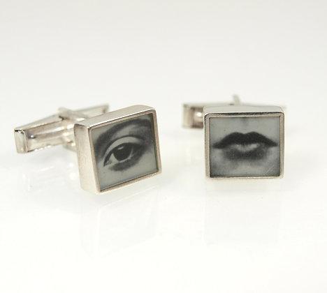 Eye & Mouth Cufflinks