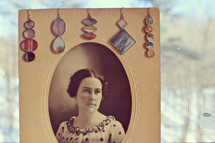 Vintage Photo Earrings