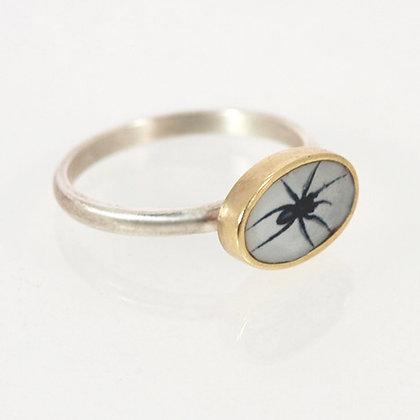 Tiny Spider Photo Ring
