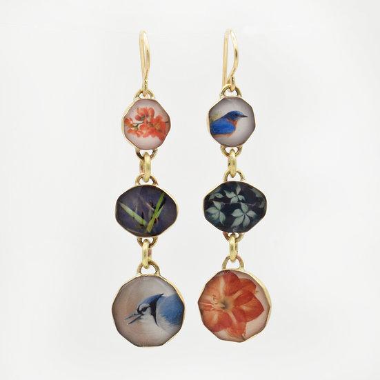 Nature Dangle Earrings