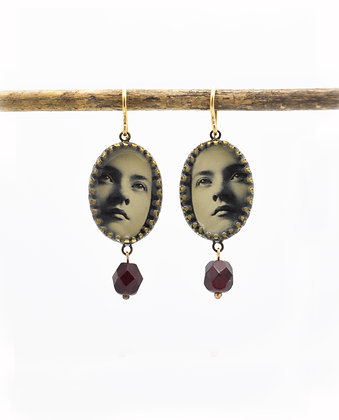 Faces Photo Earrings(IN STOCK)