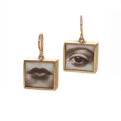 EYE & MOUTH  Earrings(ORDER)