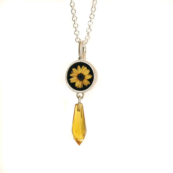 SUNFLOWER Photo Pendant (ORDER)