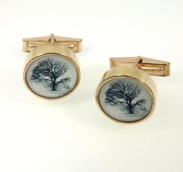 Tree Cufflinks