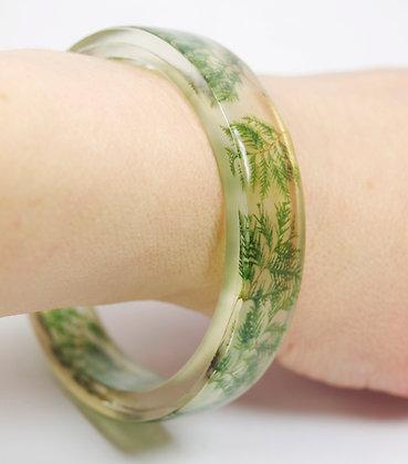 Evergreen Resin Bracelet(IN STOCK)SM/MED