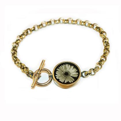 Daisy Photo Chain Bracelet(ORDER)