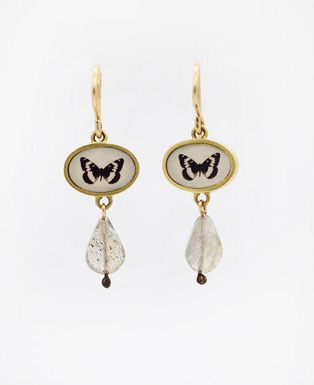 Butterfly Photo Earrings