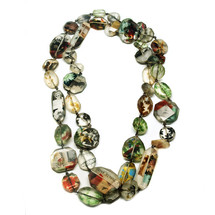 Photo Resin Bead Necklace