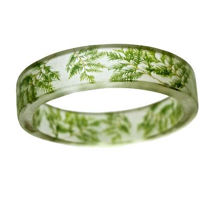 Evergreen Resin Bracelet
