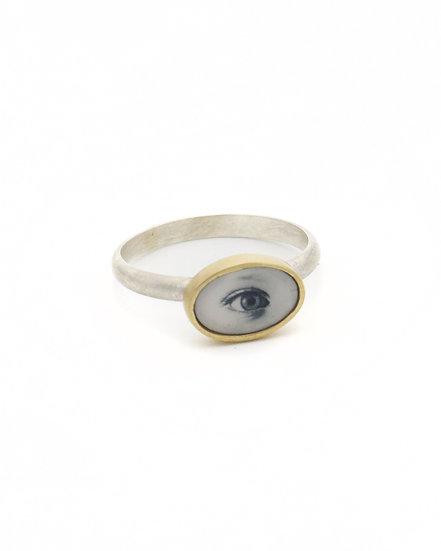 Tiny Eye Photo Ring
