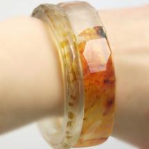 Resin Bangle Bracelets