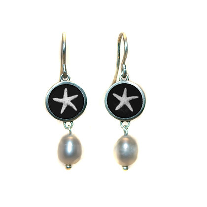 Starfish Photo Earrings (ORDER)