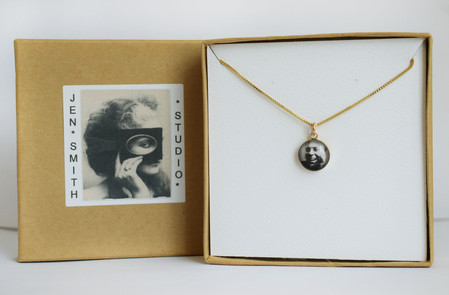 Gold Filled Photo Necklace