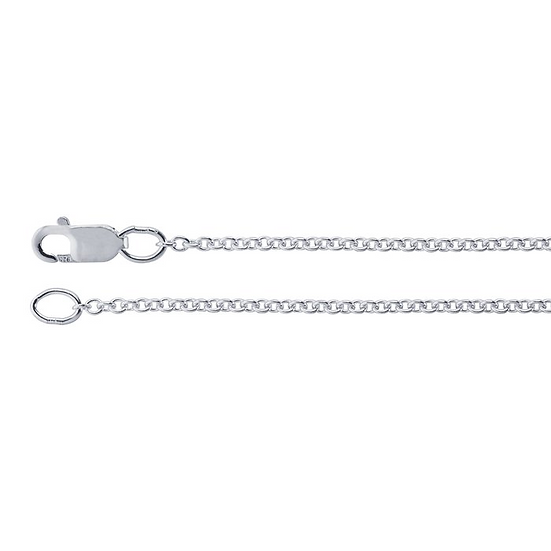 Cable Chain Necklace for Charms