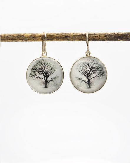 TREE Photo Earrings (in stock)
