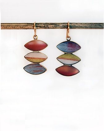 Vintage Color Photo Earrings (IN STOCK)