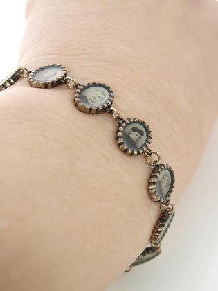 Miniature Portraits Bracelet