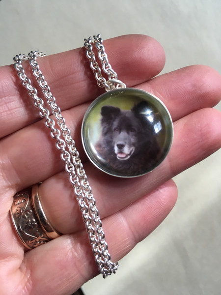Pendant with Dog