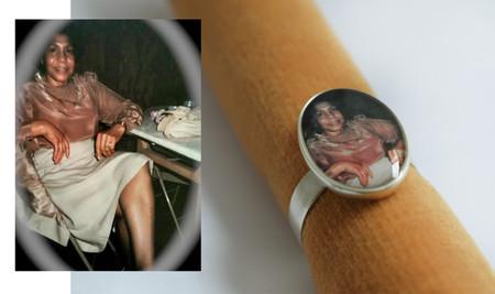 Photo Ring with original photo