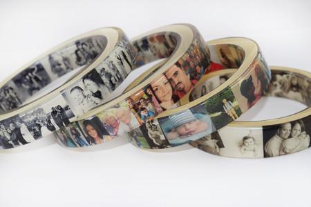 Examples of Photo Resin Bangle Bracelet
