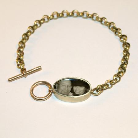 Rolo Chain Photo Bracelet