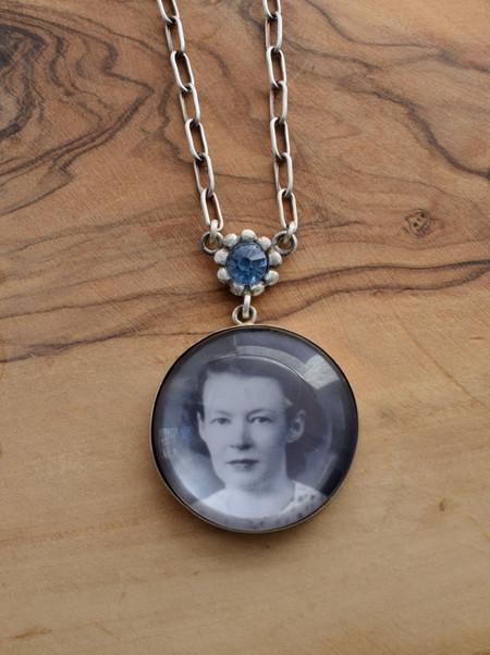 Custom Made Portrait Necklace