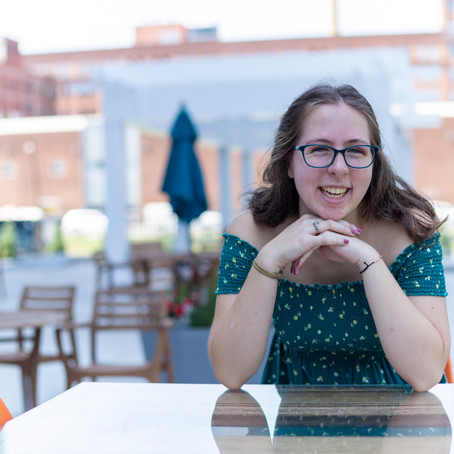 Senior Session in the Strip District