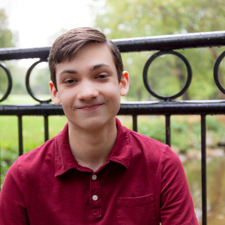 Dylan's Senior Session in Sewickley