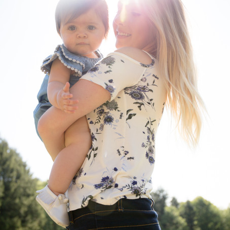 Sara and Addy | Mommy and Me