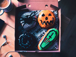Whocult Halloween Donughts