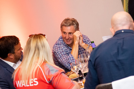 Jonathan Davies at Rugby Hospitality Event