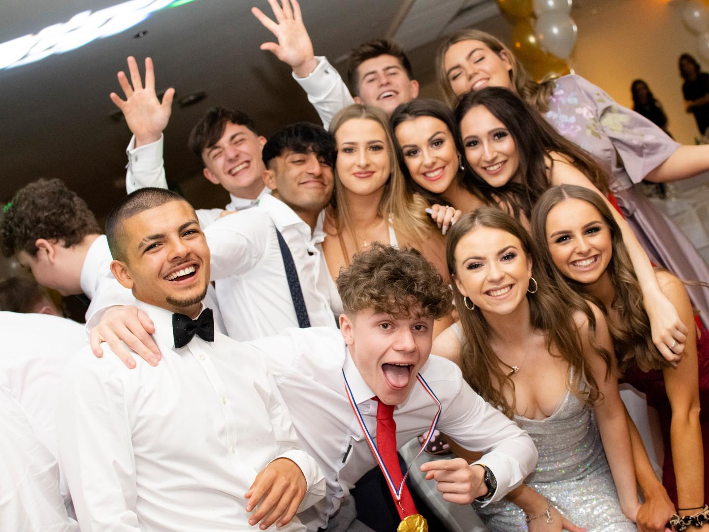 Prom Night Group Photo