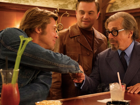 Brad Pitt is 'the Laurence Olivier of eating' on screen. Here's why we like to watch.
