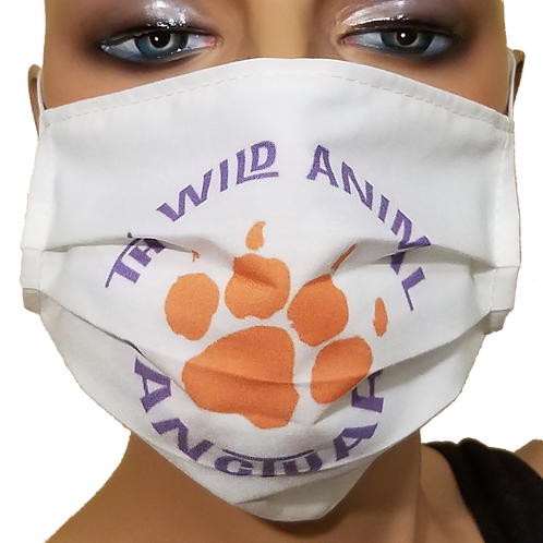 TWAS Pleated Face Mask