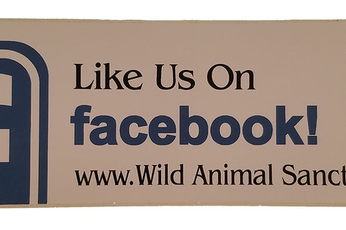 TWAS Facebook Bumper Sticker