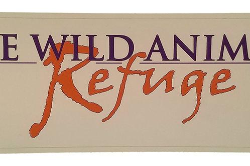 Refuge Bumper Sticker