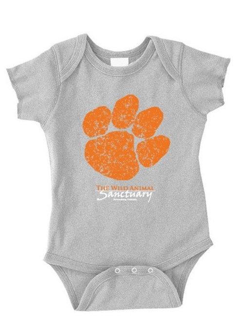 Paw Logo Toddler Onesie