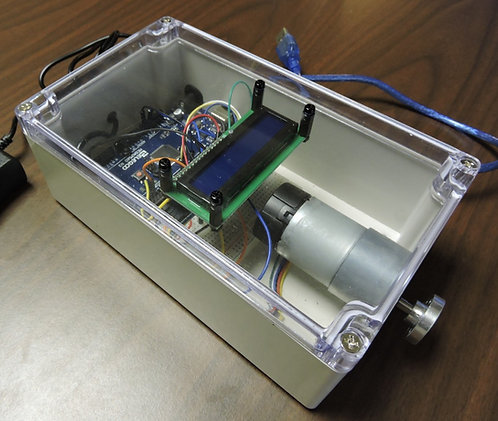 DC Motor Speed Control with Display