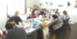 Vedic Art workshop table Hoston TX.jpg