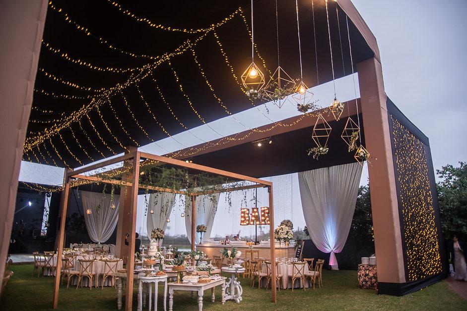 decoracion boda geometrica