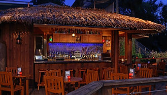 The Famous Beachcomber Restaurant Offers Grill 'N Glow's On The Beach
