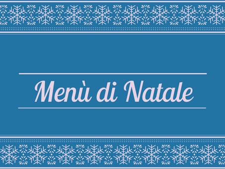 ll menù di Natale!