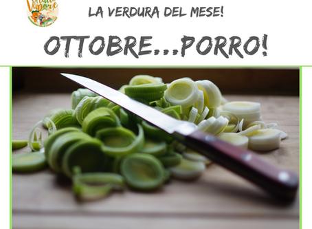 La verdura del mese. Ottobre: il porro!