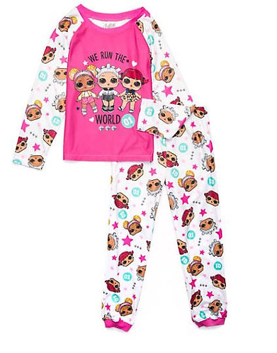 L.O.L. Surprise Girls 2 Piece Pajama Set