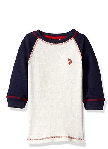 U.S. Polo Assn. Boys' L/S Thermal Top