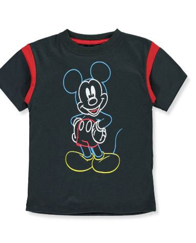 """Mickey Mouse Little Boys' """"Artist Sketch"""" T-Shirt (Sizes 2T, 3T)"""
