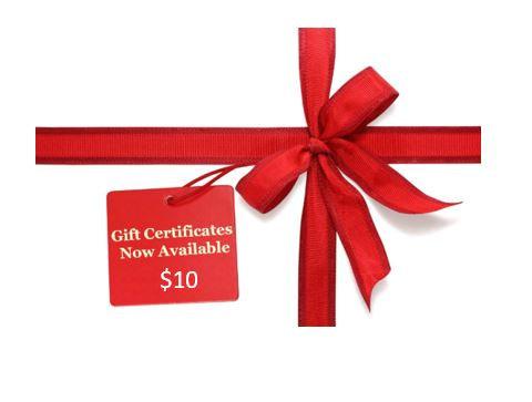$10 MzWilliesKidz Gift Certificate
