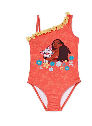 Disney Moana One Piece Swimsuit Girls